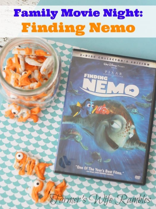 finding nemo family movie night