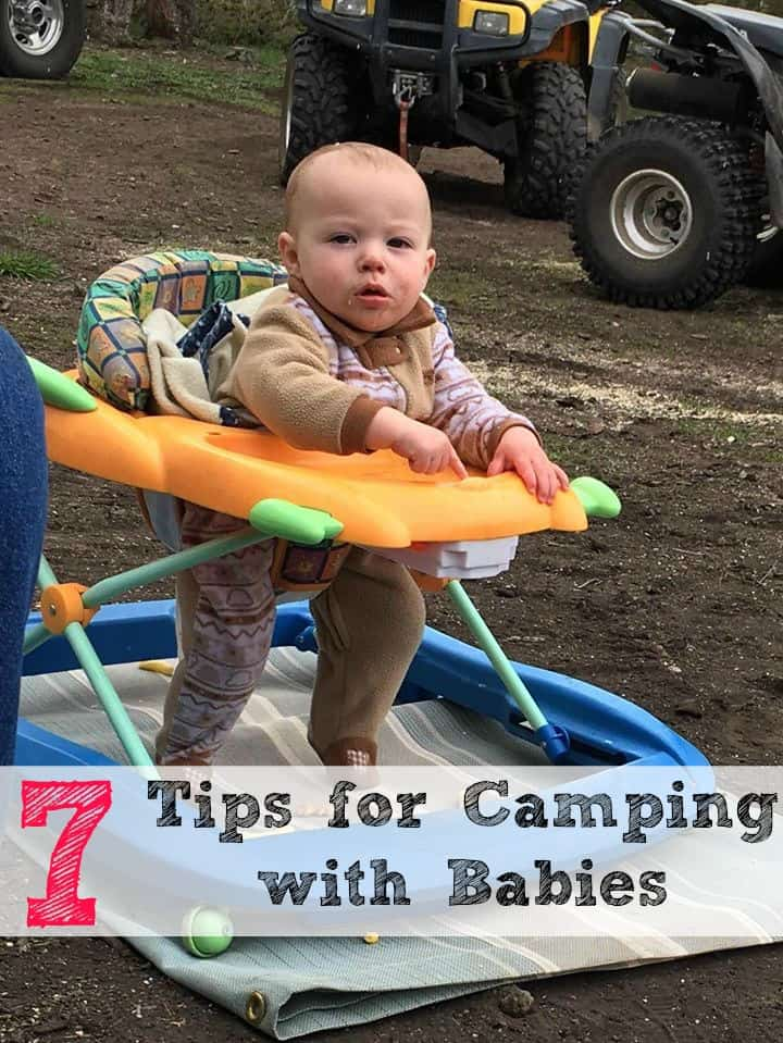 Here are 7 tips for camping with babies that will help ease the stress and help things go more smoothly.
