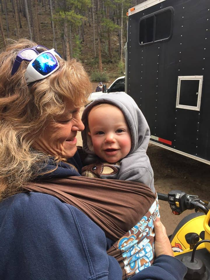 Here are 7 tips for camping with babies that will help ease the stress and help things go more smoothly. - Farmer's Wife Rambles - Farmer's Wife Rambles