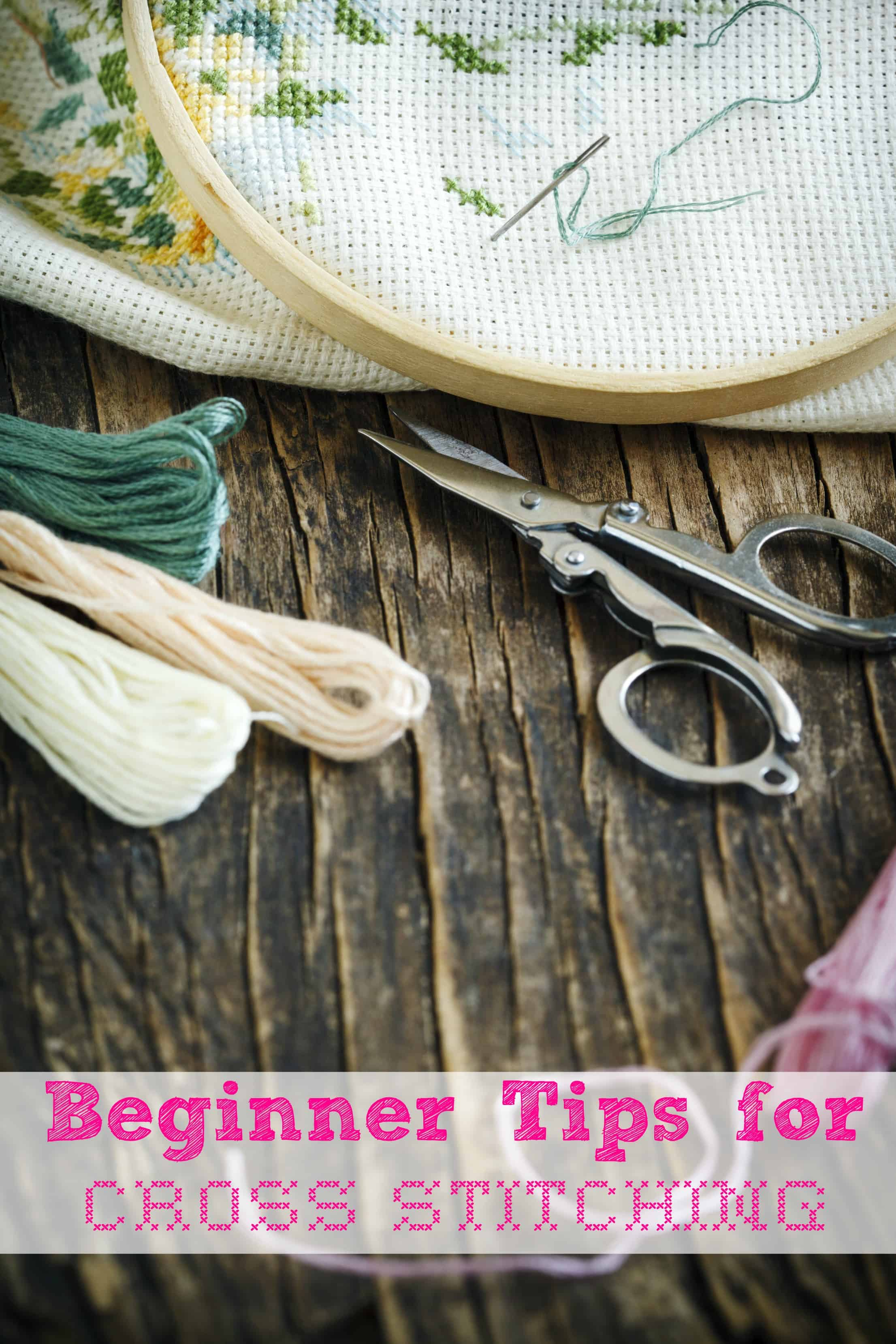 Cross stitching is a hobby that some people enjoy doing. It is a great way to relax and keep your fingers busy. Let these beginner tips for cross stitching help you get started! - Farmer's Wife Rambles