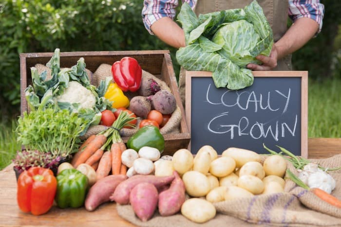 If you are unable to grow a garden or just want to supplement your own produce with more fresh foods, a farmers' market is a great place to go. Children can learn about local foods, what grows in the area and what is absent.