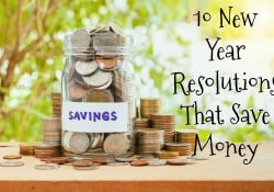 One of the biggest things people want to change in the New Year is how they spend their money. Check out these 10 New Year Resolutions that save money. - Farmer's Wife Rambles