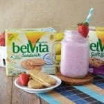 Morning Routine Solutions: Berry Smoothie & belVita Biscuits