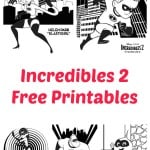 Free Incredibles 2 Coloring & Activity Pages