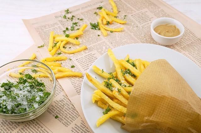 3 seasonings for french fries
