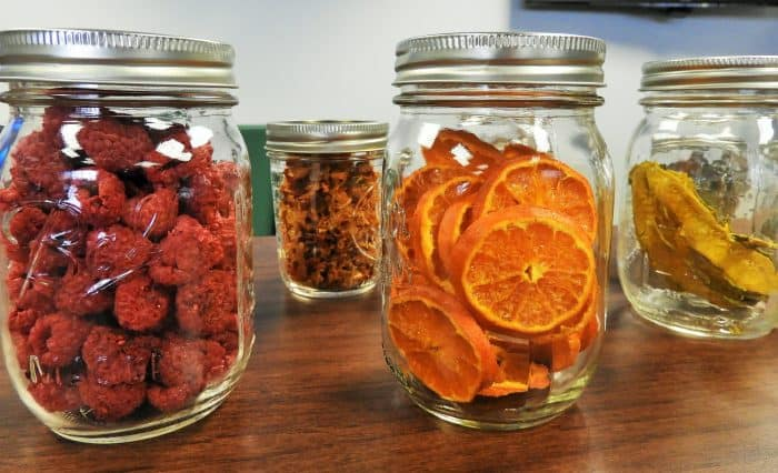 Various Fruits Dried and Canned