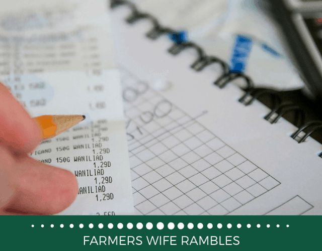 A graphic with a receipt and a notebook with the words 10 ways to improve your budget.