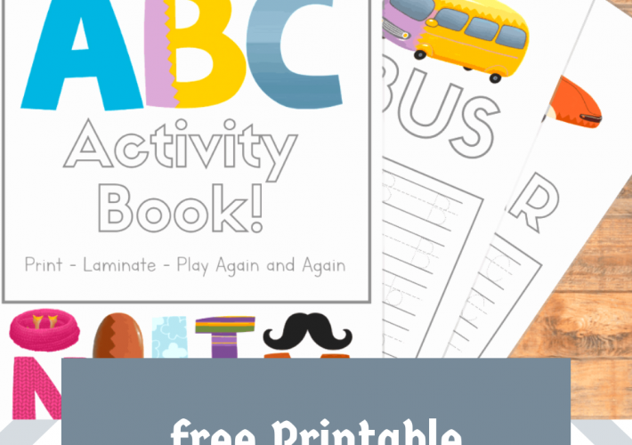 Picture of printable ABC notebooks