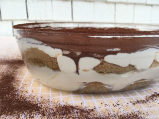 Lightened Up Traditional Tiramisu