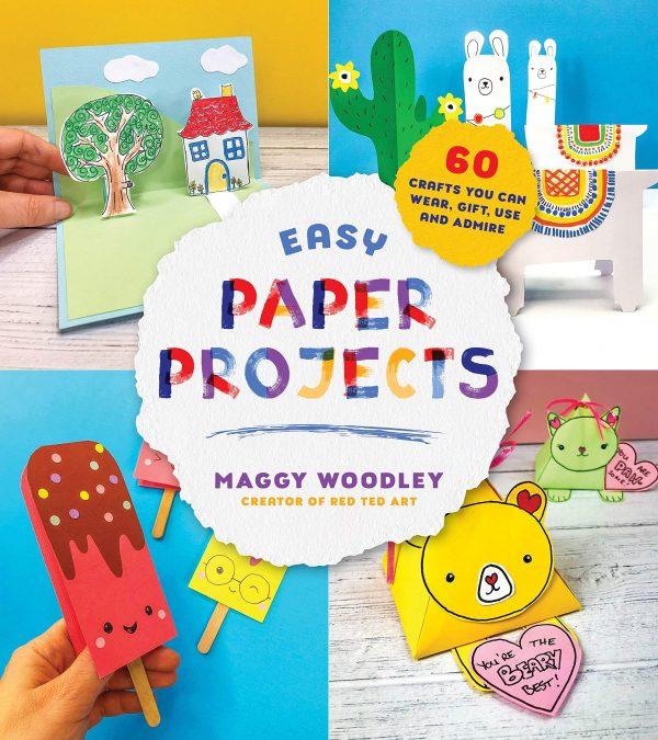 A photo collage of paper projects for all seasons and ages.