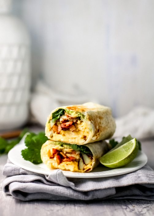 Breakfast Crunchy Wraps