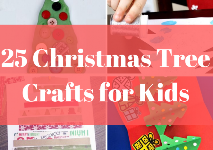 These fun Christmas tree crafts are perfect for kids of all ages, and are guaranteed to keep your kids entertained for hours and can be a fun way to countdown to Christmas!