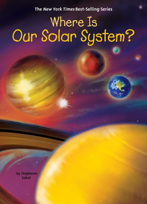 Where is Our Solar System Book Cover