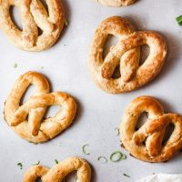 Browned Butter Pretzels